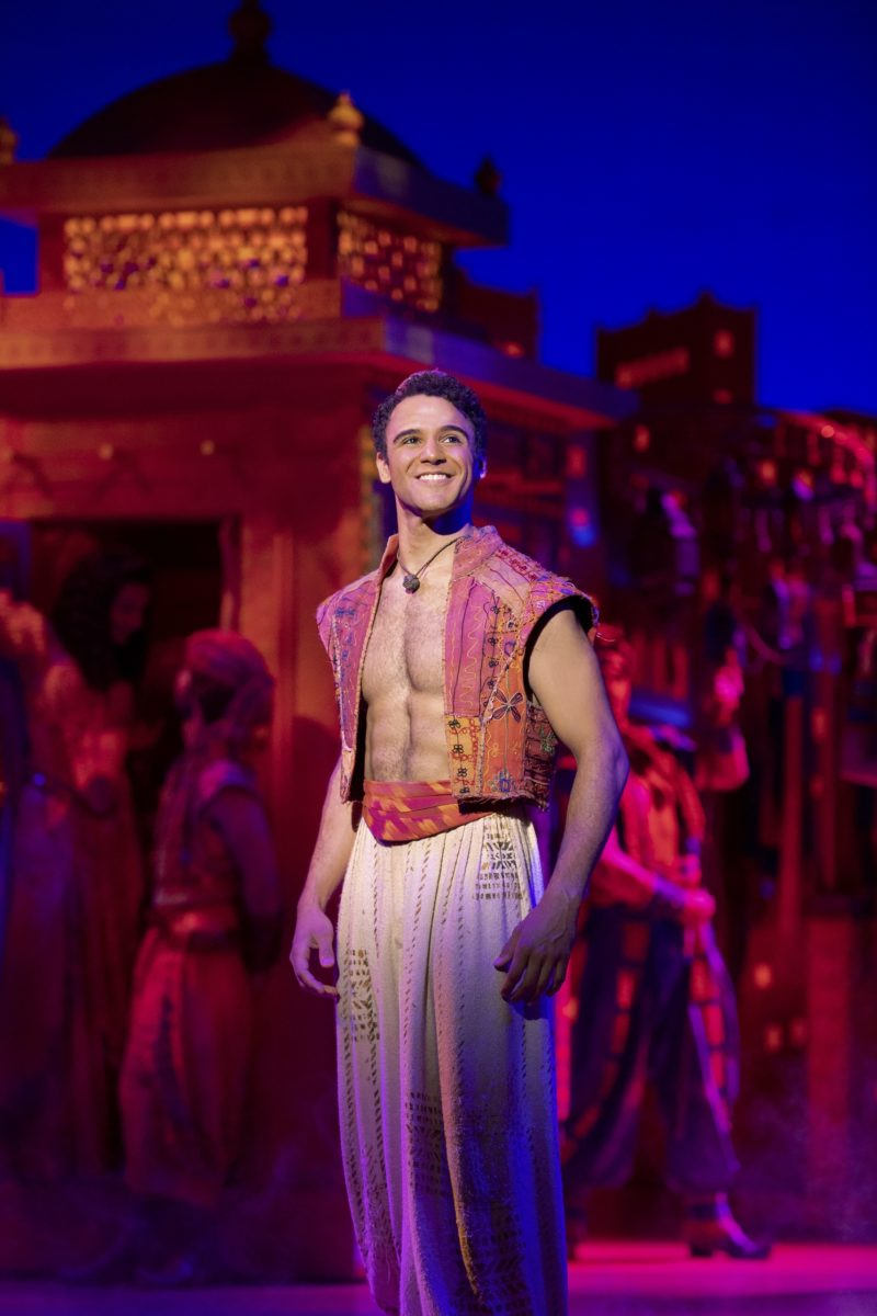 Clinton Greenspan (Aladdin). Aladdin North American Tour. Photo by Deen van Meer. © Disney