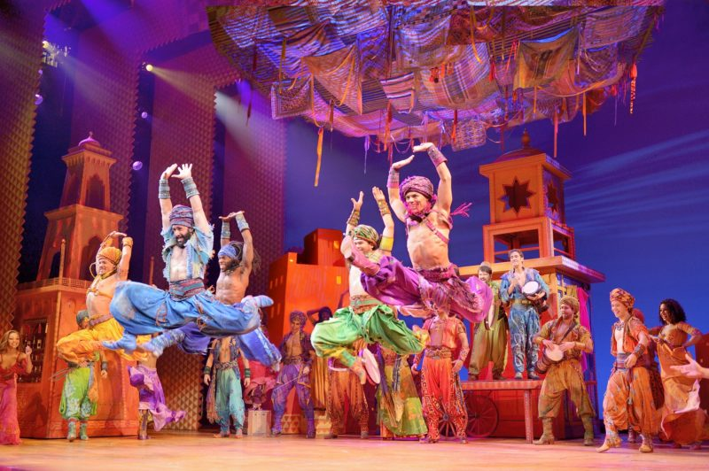 Arabian Nights Men.  Photo by Deen van Meer. ©Disney