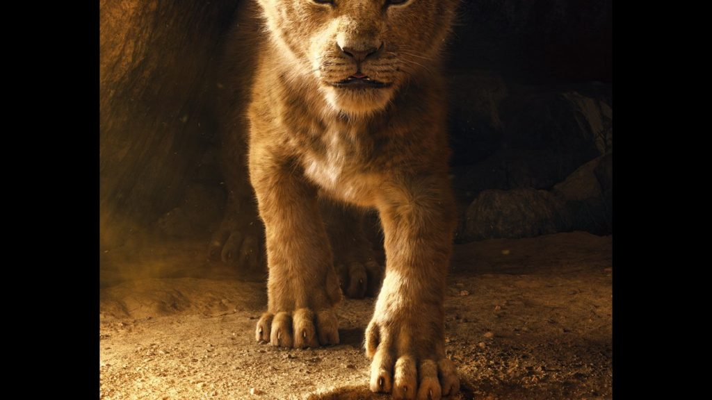 Lion King movie poster - 11/2018 - Walt Disney Studios