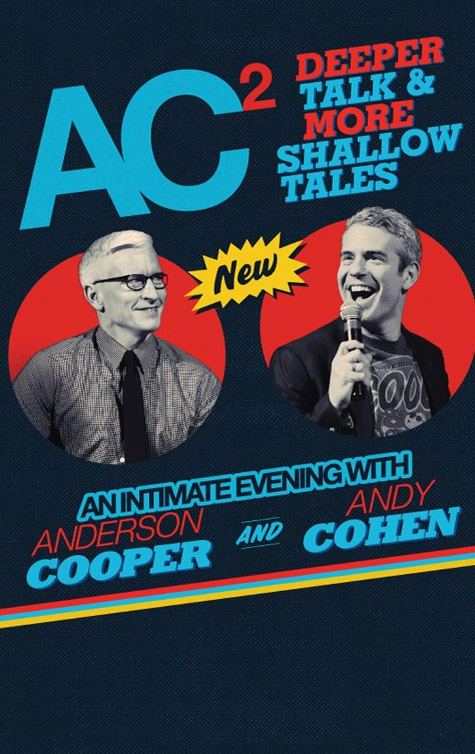 An Intimate Evening with Anderson Cooper and Andy Cohen