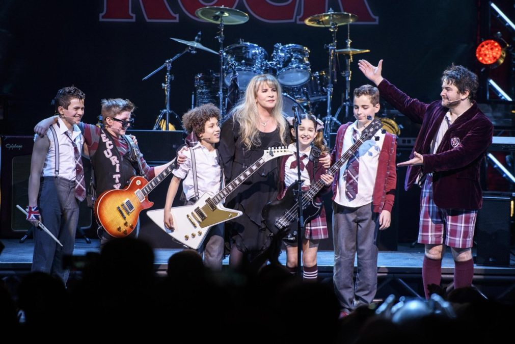 Stevie Nicks - School of Rock - Matthew Eisman/Getty Images for School of Rock - The Musical - 4/16