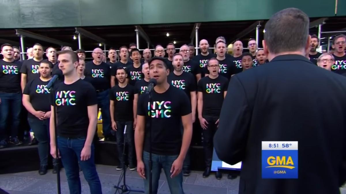 WI- NYC Gay Men's Chorus - 6/16