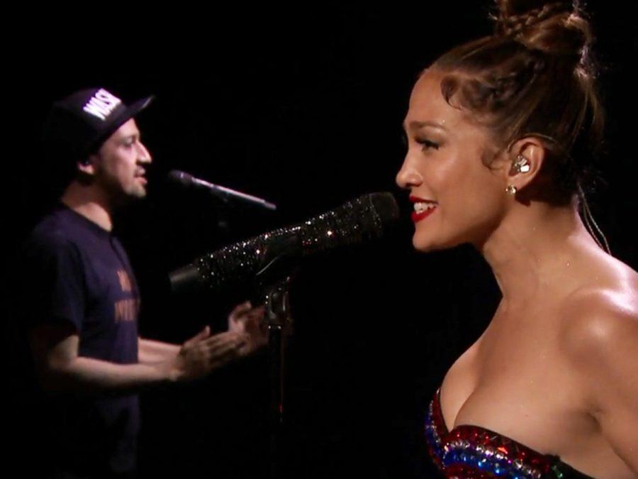 WI - Lin-Manuel Miranda - Jennifer Lopez - Fallon - 7/16