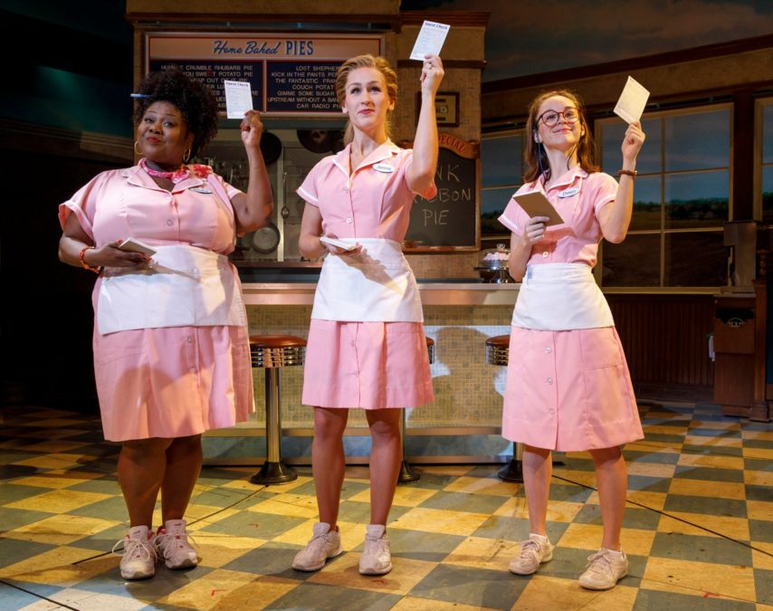 HS - Waitress - Maia Nkenge Wilson - Stephanie Torns - Caitlin Houlahan October Breast Cancer - 9/17 - Joan Marcus