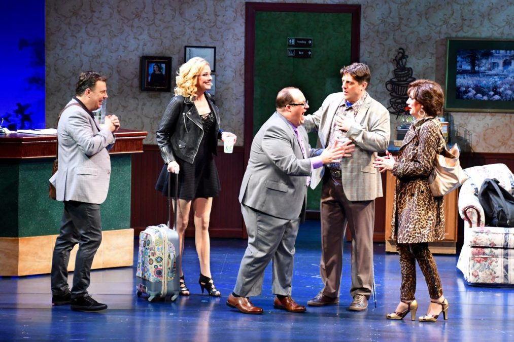 OUT OF TOWN - The Prom - Brooks Ashmanskas - Angie Schworer - Josh Lamon - Christopher Sieber - Beth Leavel - 08/2016 - Alliance Theatre - Greg Mooney