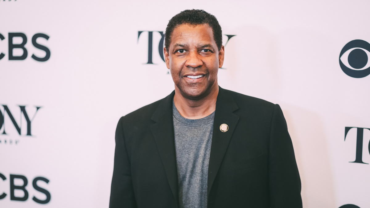 Meet the Nominees - Denzel Washington - Tony Awards - Press Junket - 5/18 - Emilio Madrid-Kuser