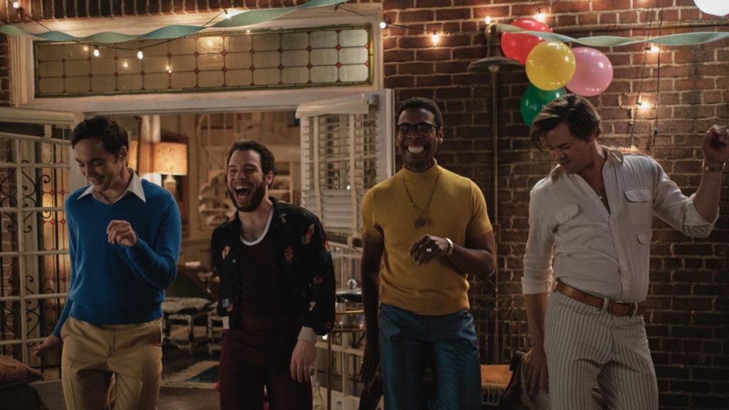 Boys in the Band Film - Jim Parsons - Robin De Jesús - Michael Benjamin Washington - Andrew Rannells - 8/20 - Netflix
