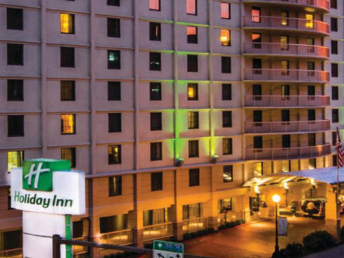 Front of Holiday Inn