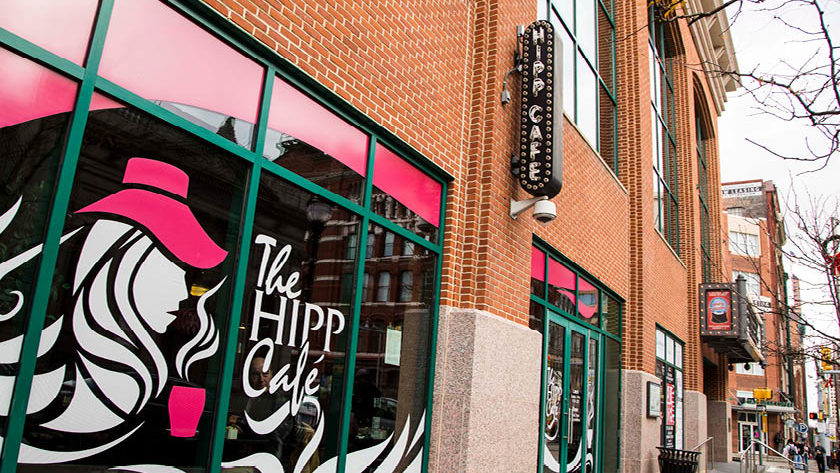 The Hipp Cafe storefront