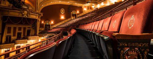 Inside the Hippodrome Theatre