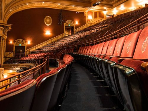 Inside the Hippodrome Theatre