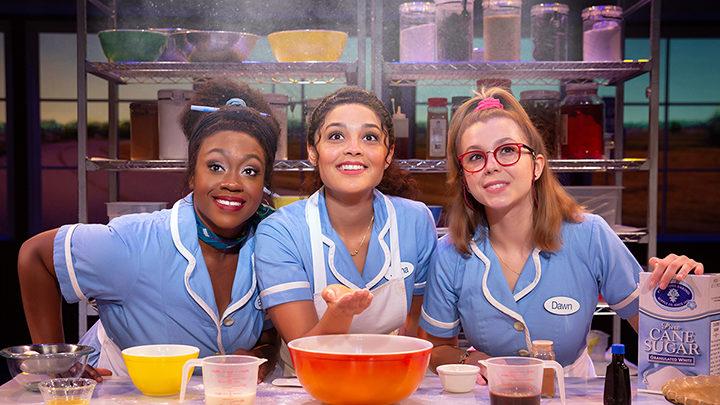 Kennedy Salters, Jisel Soleil Ayon and Gabriella Marzetta in Waitress_Credit Jeremy Daniel_WAIT_0456__